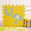 1.4 cm de Espessura Esteira do Jogo do Enigma Dos Desenhos Animados, 28 pçs/lote Bebê Engatinhando Tapete Subida Pad Tapete Crianças EVA Foam Crianças Jogo de Chão Macio Brinquedo 450