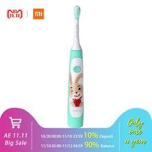 Xiaomi SOOCAS C1 Милая водостойкая электрическая зубная щетка для детей перезаряжаемая ультра-звуковая зубная щетка