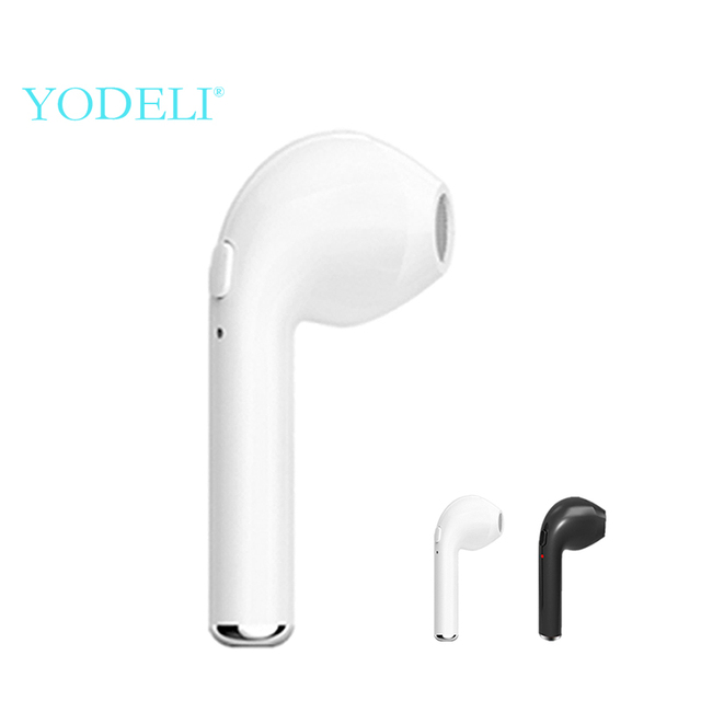 9a4b2b4ce45 Mini Wireless Headphones i7 Bluetooth Earphone True Cordless Earbuds Sport Handsfree  Bluetooth Headset with Mic for Phone xiaomi