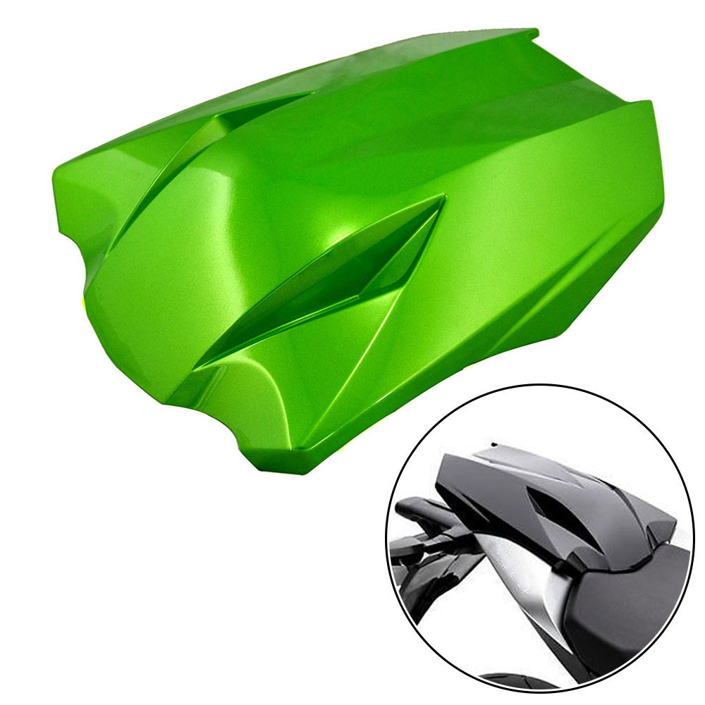 ФОТО High Quality Brand New Green Motorcycle Rear Seat Cover Cowl Fairing For Kawasaki Z1000 2010-2013