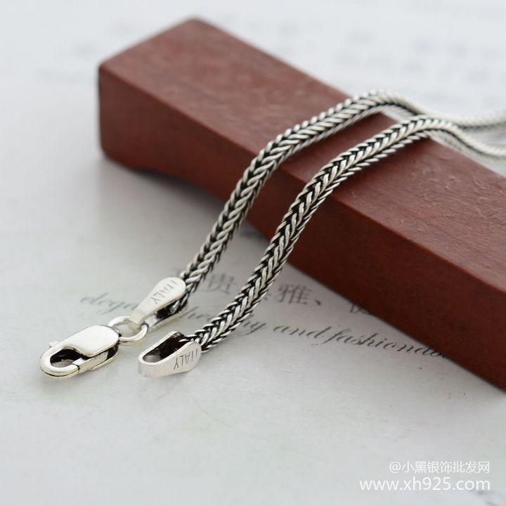 925 Sterling Silber Halskette weibliche dicke 1,6 mm - Edlen Schmuck - Foto 1