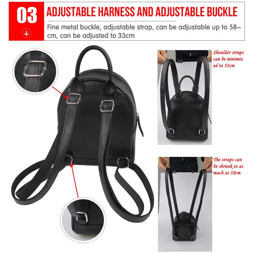 1pcs,2pcs,4pcs Nature Vector Pu Leather Double Sides Print Round Luggage Tag Mutilple Packs