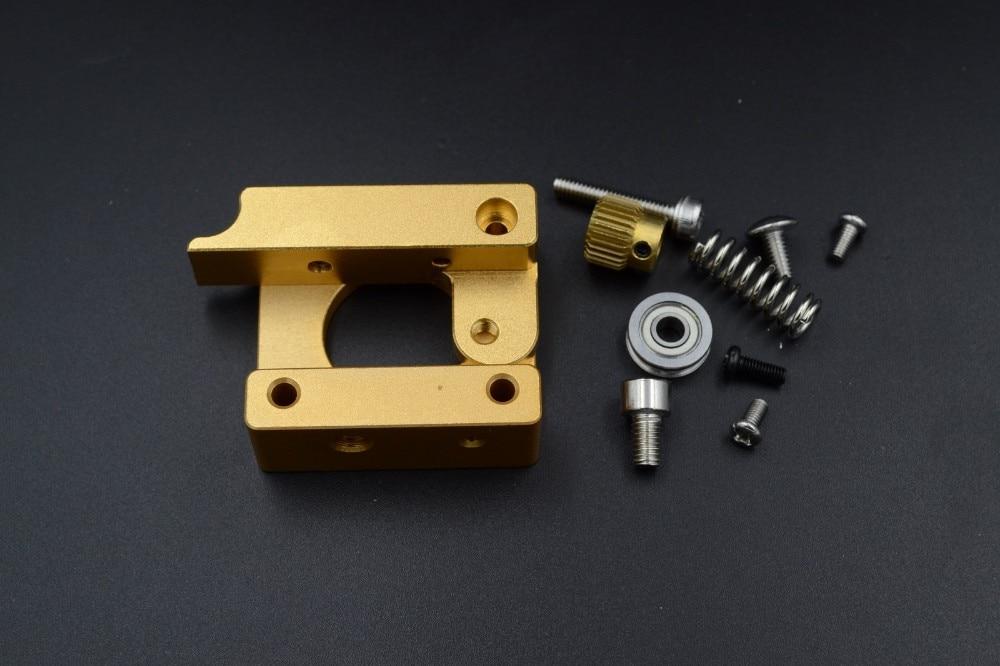 2 sets/lot Aluminum block DIY kit Left hand For single nozzle MK8 extruder extrusion printer head Makerbot Reprap Prusa i3