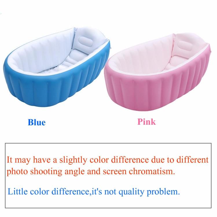 Portable Baby Infant Swimmingpool Travel Inflatable Bath Tub Plastic ...