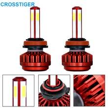 8000LM 4 辺 360 ° 高輝度スポットライトH7 ledヘッドライト電球車のヘッドlmapライトhb4 9006 H8 H11 hb3 9005 ledライト電球 6000 18k