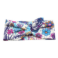 Baby hair ties Unisex Print Knot Cross Headband Baby Hair Accessories Kids Turbans Accessoire Headband Baby Headdress(China)