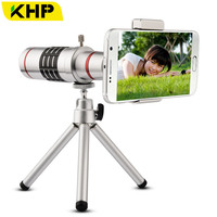 IST 18x Mobile Phone Lens Universal 18X Zoom Telescope Phone Camera Telephoto Lens For IPhone Samsung