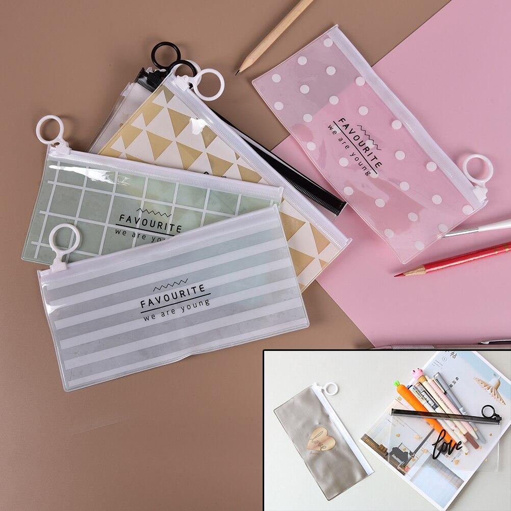 1 Stücke Tragbare Frau Make-up Tasche Pvc Reißverschluss Bilden Kulturreise Wash Zahnbürste Kosmetiktasche Waschen Tasche Organizer Tasche