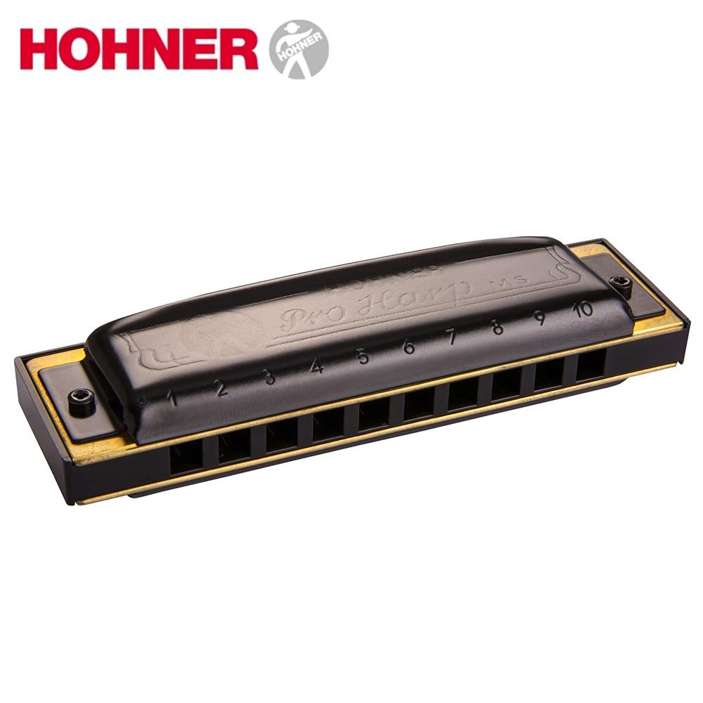 Hohner Pro Harp MS Diatonic Harmonica 10 Hole 20 Tone Mouth Organ Instrumentos Key Of C