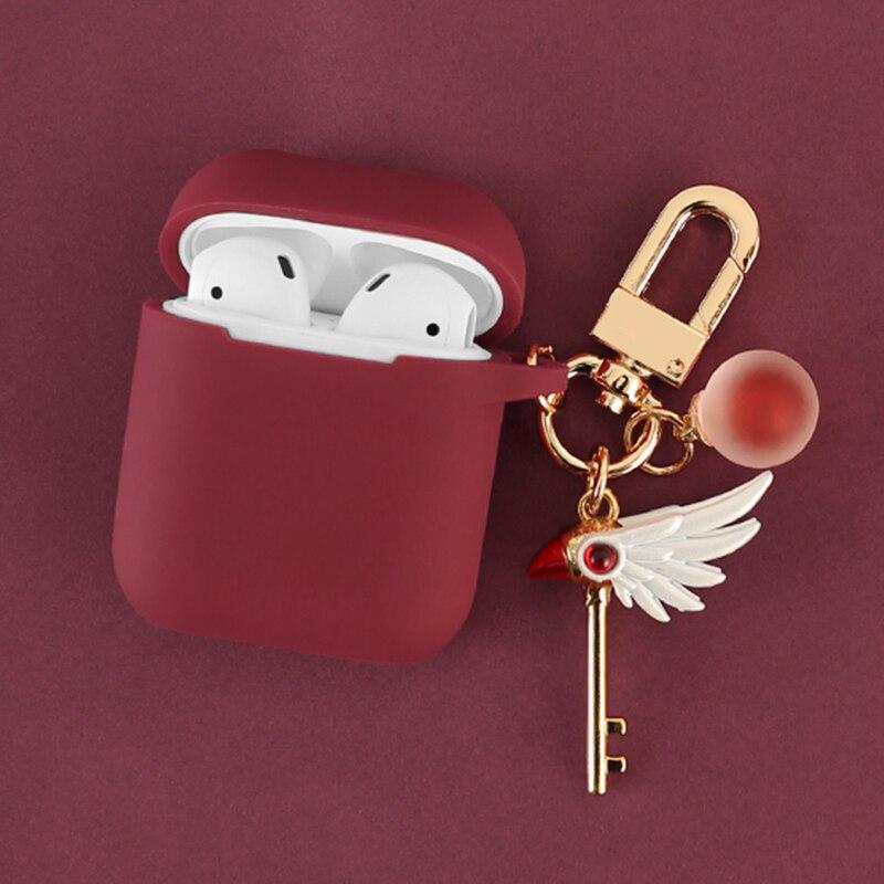 Купить милый декоративный силиконовый чехол для девочек apple airpods