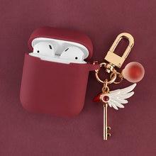 Милый декоративный силиконовый чехол для девочек apple airpods