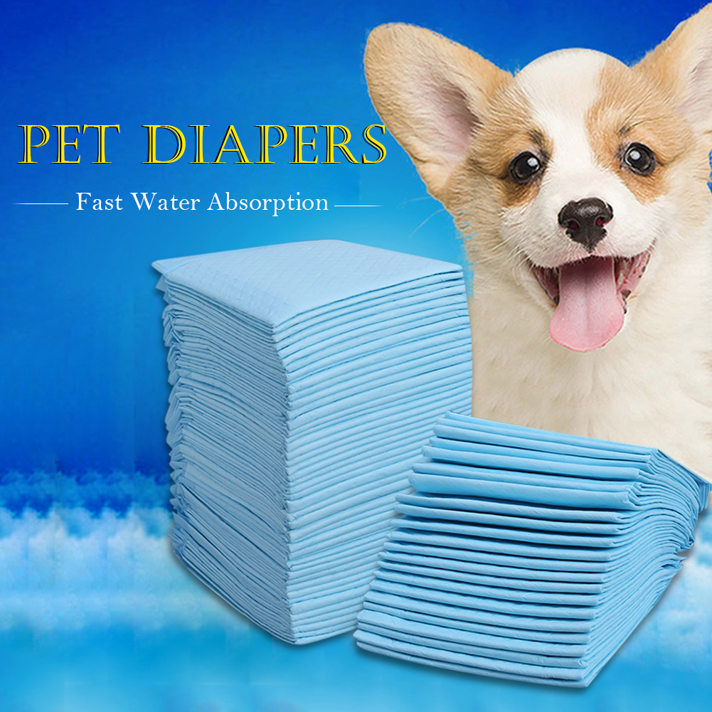 Multi - size Pet Absorbent Dairy Diapers Pet Dog Training Urine Pad Pet Diaper for Dog Cat Pet Dog Dairy Diaper Supplies S-XL