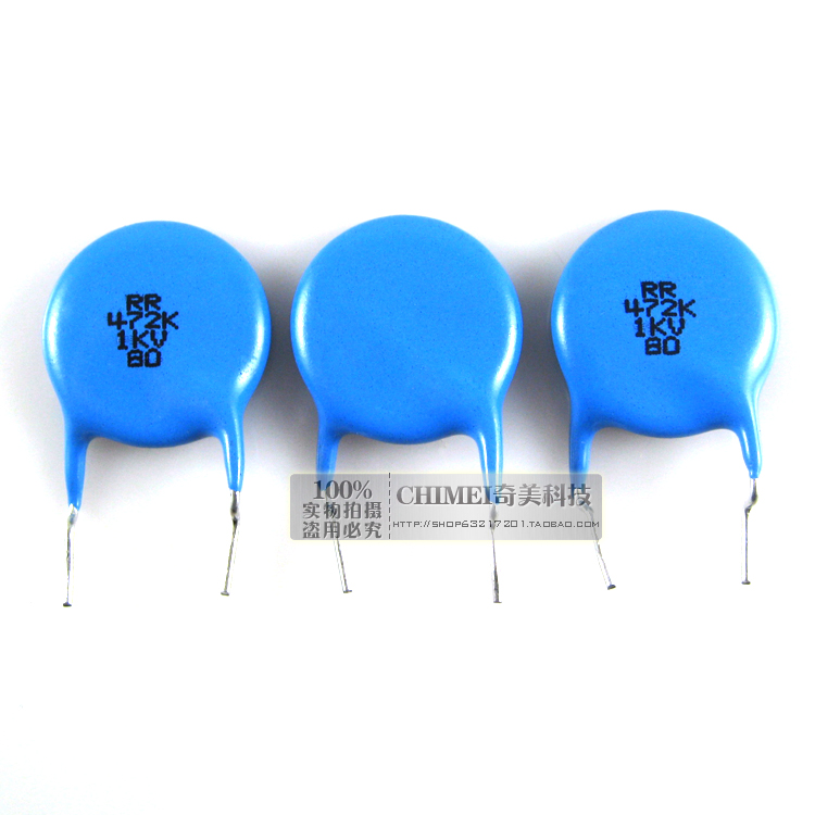 Ceramic capacitors 1KV 472Z capacitors commonly used in high-stability oscillation circuit