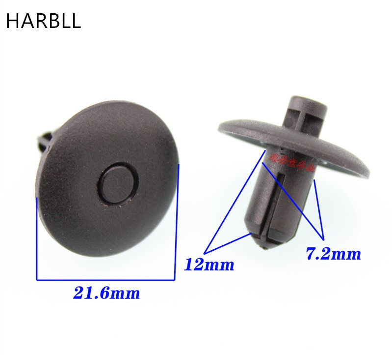 HARBLL Water tank on the first bumper cover plate to protect the card buckle is suitable for the audi Q5 / A4L/A5 / A6LTTA8L