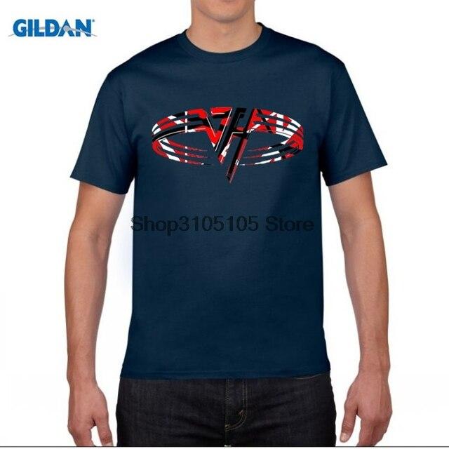 GILDAN designer t shirt Nerdy Men Van Halen Music Band Logo T ...