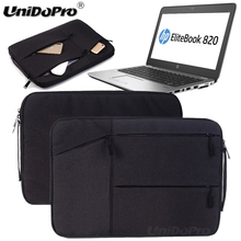 "Unidopro Multifunctional Notebook Sleeve Briefcase for HP Chromebook 11 G3 Mallette 11.6"" Laptop Aktentasche Carrying Bag Cover(China)"