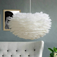 Modern Pendant Light Feather Pendant Lamp Vintage Hanging Lamp Home Decor Lighting  Fixture For Kitchen Bedroom Living Room contemporary chandelier modern american style dining room lighting fixture pendant lamp light for bedroom living decor