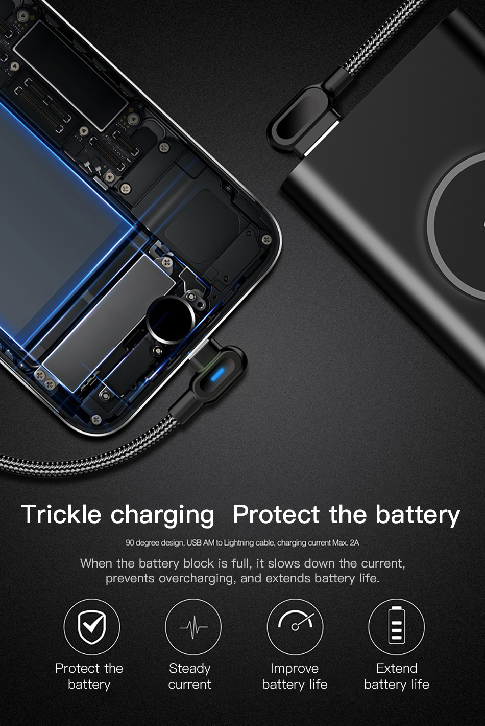!ACCEZZ 90 Degree Micro USB Cable Fast Charging For Xiaomi Redmi Note 5 Pro Samsung S6 S7 Huawei Tablet Android Data Sync Cables (12)