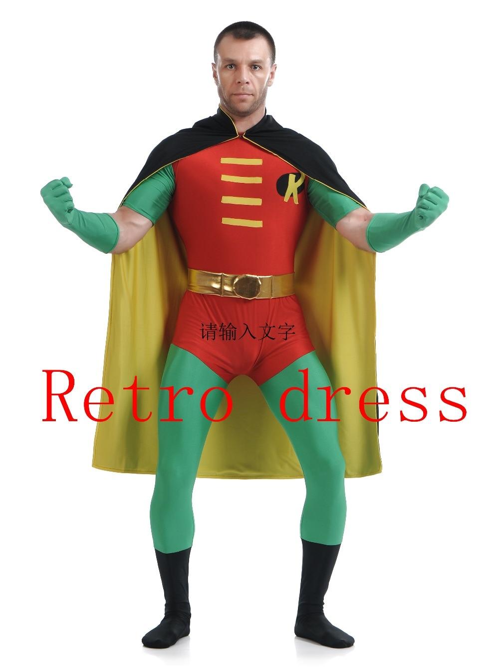 Online Get Cheap Batman and Robin Halloween Costume -Aliexpress ...