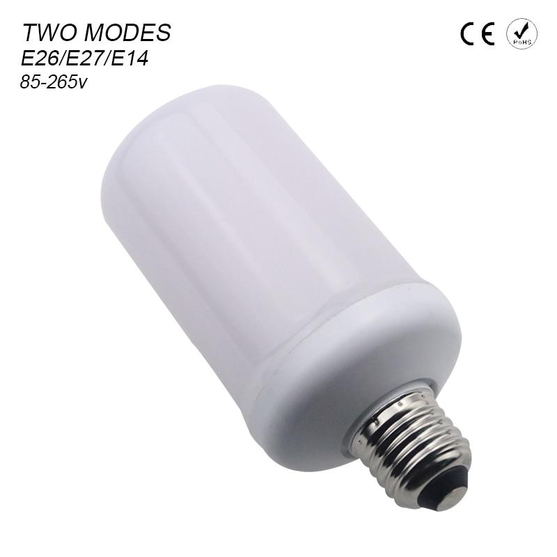 Lâmpadas Led e Tubos novo 2017 chama lâmpada led Modes 1 : Flickering Mode