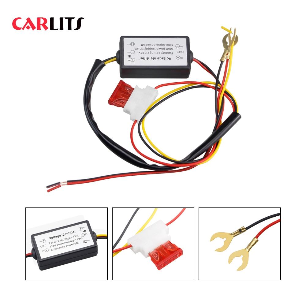 1PCS DRL Controller Auto Car LED Daytime Running Lights Controller Relay Harness Dimmer On/Off 12-18V Fog Light Controller