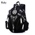 2016 Nuevo Diseño Moda Casual Hombres Mochila Ordenador de Viaje Bolsos de Escuela del Estudiante mochilas Portátiles de Alta Calidad para Los Adolescentes