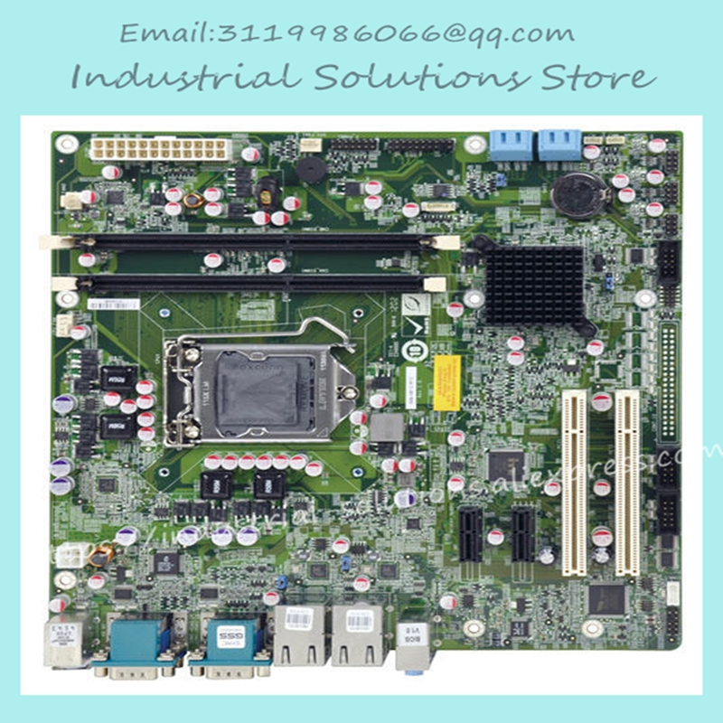 Motherboard Iei 6 Serial Port Motherboard IMB-H612A-R10 Dual Gigabit Ethernet Port 2PCI 100% tested perfect quality mantra бра dali 0097