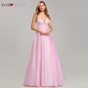 Pink Prom Dresses 2020 Ever Pretty A-Line Sequined Elegant Women Dresses Evening Party Special Occasion Mezuniyet Elbiseleri 3