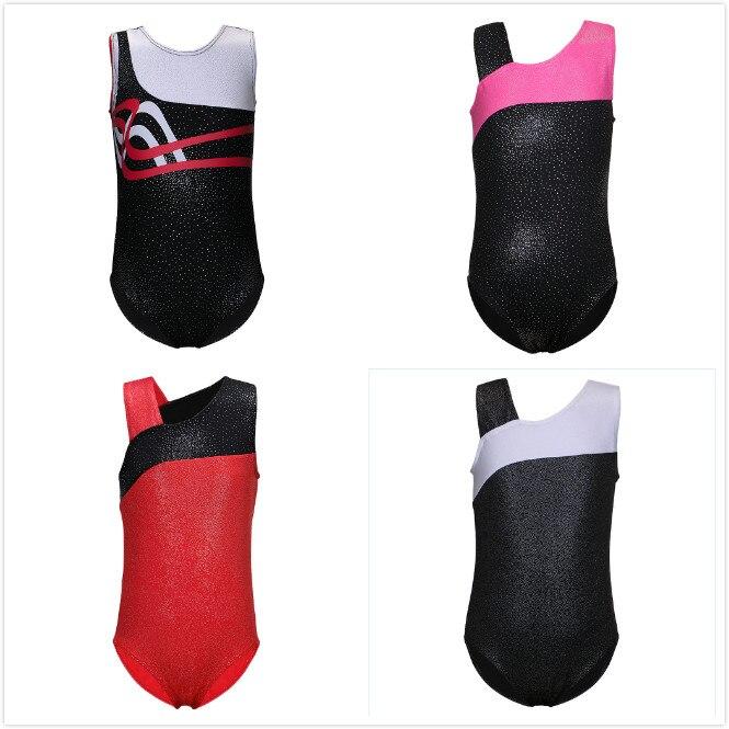 New Girls Kids Ballet Tutu Dancewear Sleeveless Ballet Costumes Dance Dress Ballet Gymnastics Leotards Professional Ballet Cloth