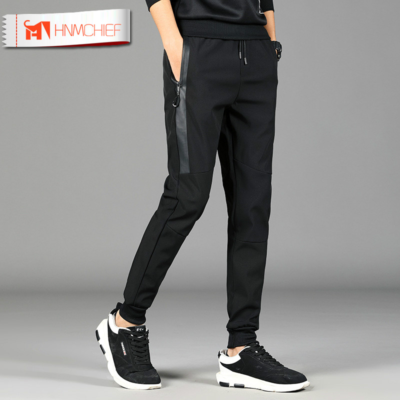HNMCHIEF 2019Mens Haren Pants For Male Casual Sweatpants Hip Hop Pants Streetwear Trousers Men Clothes Track Joggers Man Trouser