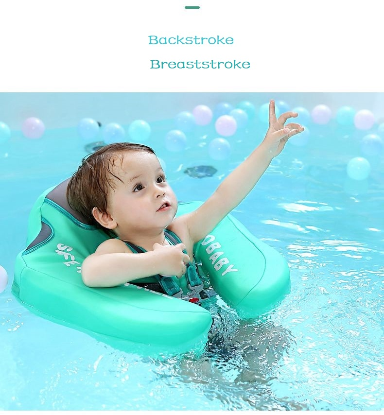 Baby Swimming Ring Solid No Inflatable Safety For accessories floating Floats Swimming Pool Toys (6)
