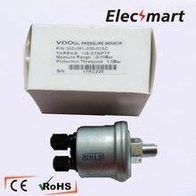 VDO Датчик давления масла 1/8-27 NPTF для дизельного двигателя 0-10Bar