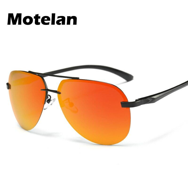 In Style; New Fashionable Metal Sunglasses Men Reflective Mirror Lens Sun Glasses Cool Eyewear Pilot Style Driving Glasses R243 Fashionable
