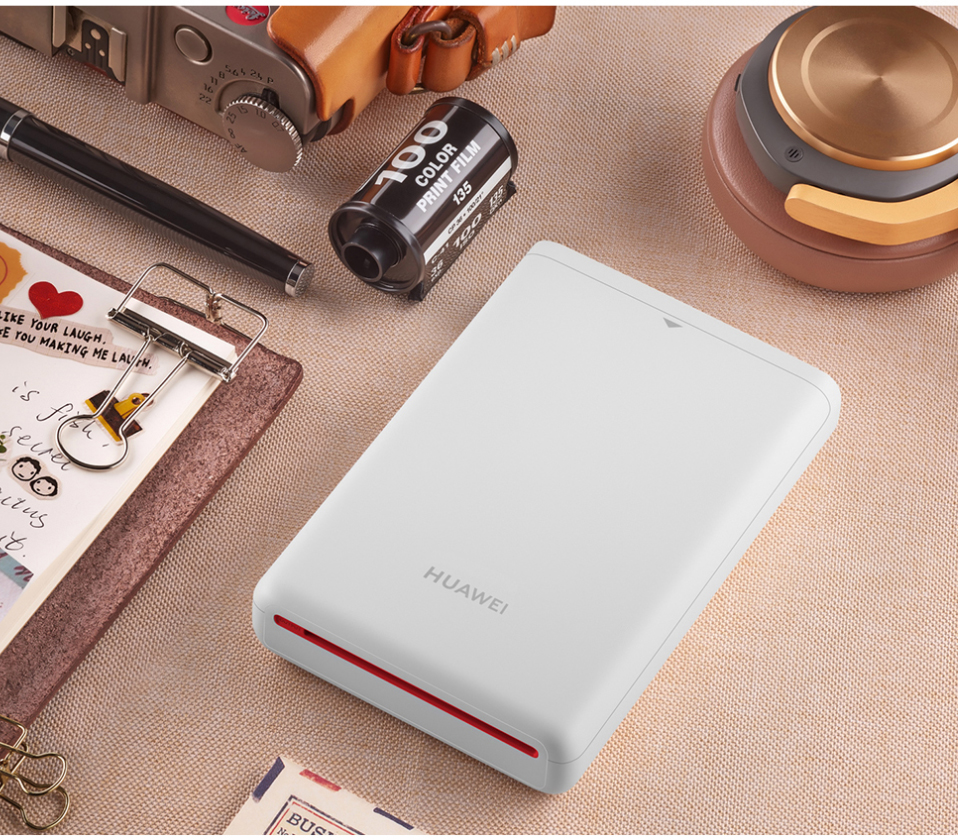 AR Printer 300dpi Original Huawei Zink Portable Photo Printer Honor Mini Pocket Printer Bluetooth 4.1 Support DIY Share 500mAh (13)