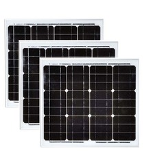 Solar Module Panel 18v 30w 3 Pcs Panels 90 watt 48 volt Battery Batteries 12v Camping Caravan Home Light Car