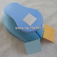 free shipping 3 inch (about 5.2cm) square flower paper punches eva foam punch craft punch for scrapbooking