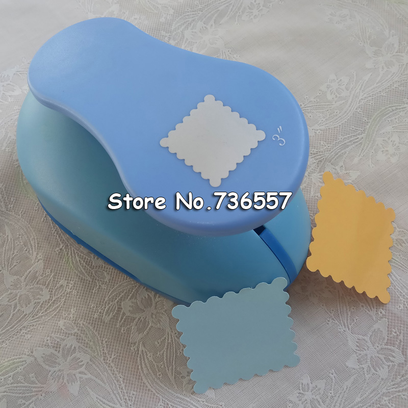 free shipping 3 inch (about 5.2cm) square flower paper punches eva foam punch craft punch for scrapbookingfree shipping 3 inch (about 5.2cm) square flower paper punches eva foam punch craft punch for scrapbooking
