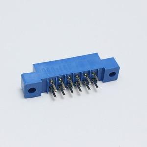 Image 3 - 30 ピース/ロット 805 カードエッジコネクタ 3.96 ミリメートルピッチ 2 × 6 行 12 ピン PCB スロットはんだソケット SP12 ディップはんだブロックタイプ