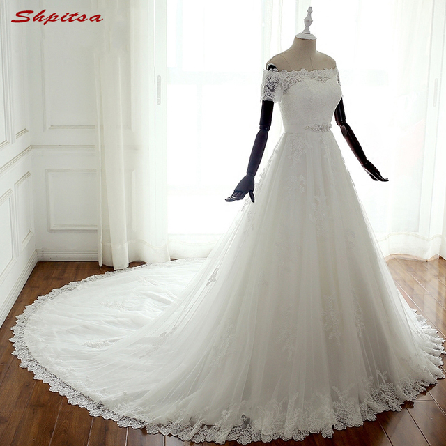 Lace Wedding Dresses Sequin Country Western Plus Size Wedding Gowns ...