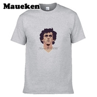 Men France Legend Michel Platini 10 Juventus Legend T Shirt Clothes T Shirt Men S O