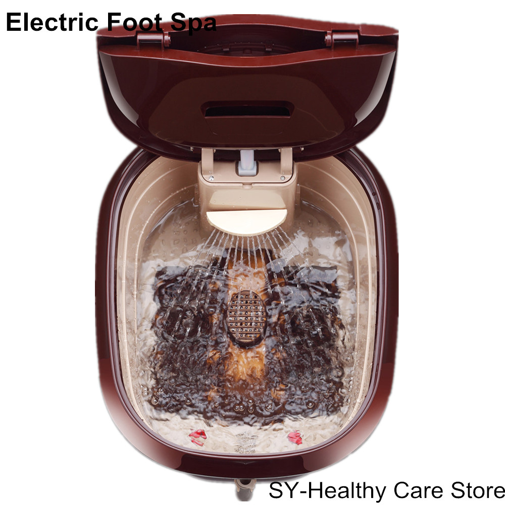 2018 Ny Bedste Present Electric Foot Spa Automatisk Massage-5241