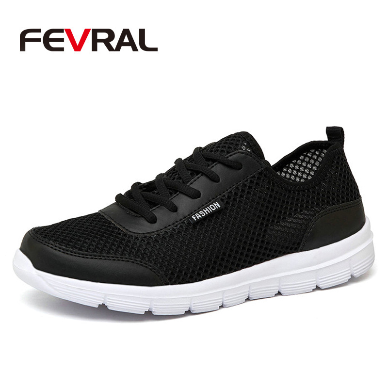 FEVRAL Brand New Summer Men Shoes Comfortable Breathable Mes