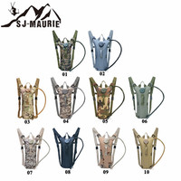 SJ MAURIE 3L Cycling Water Bag Military Tactical Hydration Backpack Outdoor Camping Camelback Nylon Camel Water Backpack