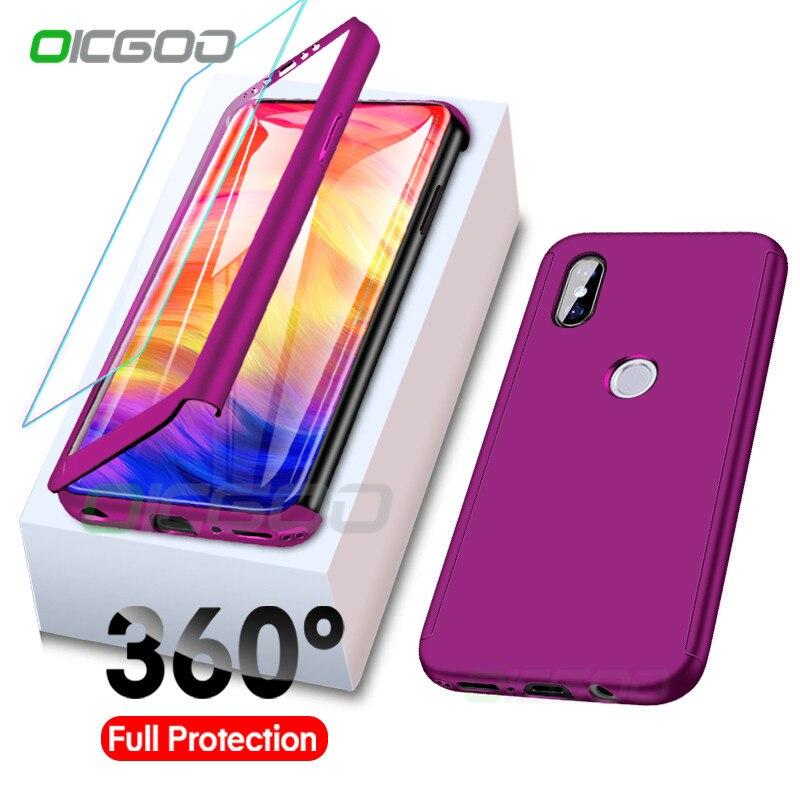 OICGOO Luxury 360 Full Cover Case For Xiaomi Redmi Note 5