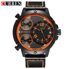 Mens Watches Top Brand CURREN Unique Analog Military Sports