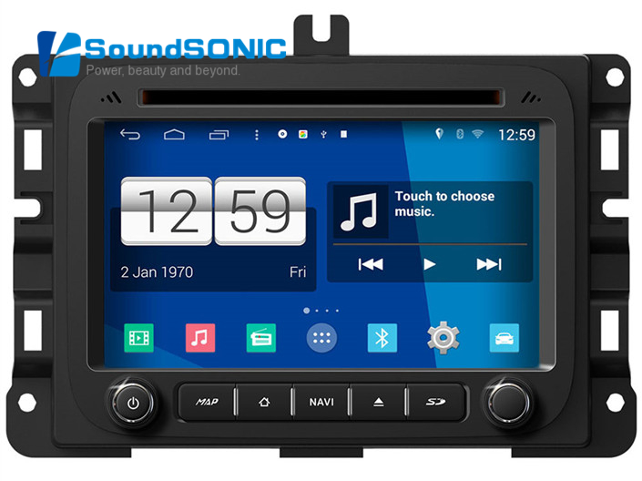 Android 4.4.4 For Dodge RAM 1500 2500 3500 2013 2014 2015 Car Radio Stereo DVD GPS Navigator Autoradio Audio Video Player