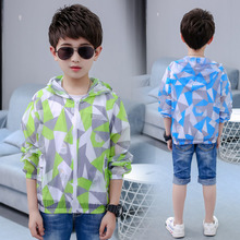 Get more info on the Kids Boy Summer Sun Protection uv Jacket Clothing Children Polyester Resistance Anti UV Protection Shirt Top Hooded Coat Clothes