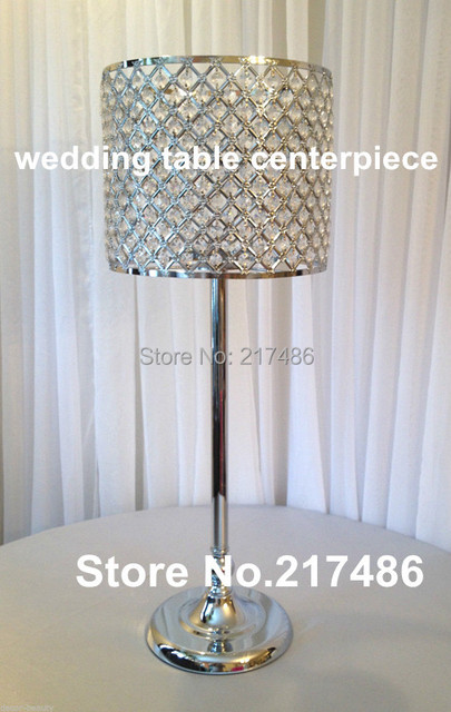 Crystal Table Chandelier Centerpiece, Wedding Centrepiece