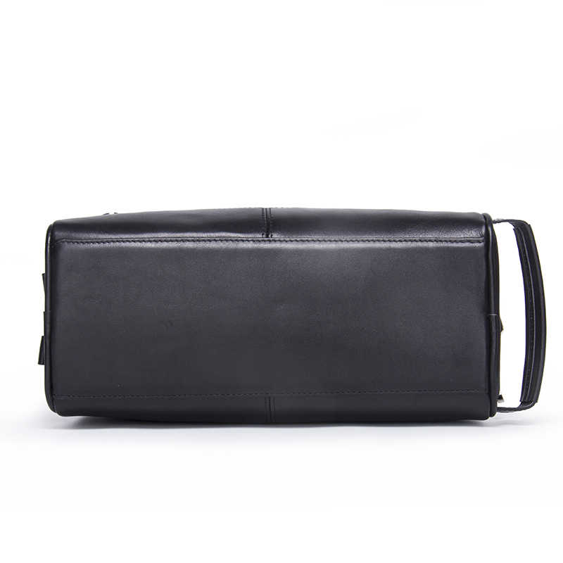 e4f565f780 ... Casual Cosmetic Bag Women Travel Makeup Case Genuine Leather Toiletry  Bag High Quality Zipper Man Travel ...