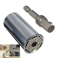 Universal Gator Grip Socket Adapter With Power Drill Adapter Tool ETC 120A